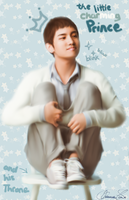 charMINg prince on his throne by AcchanChangmin