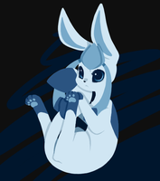 This is not a Glaceon by Snoweh-Storm