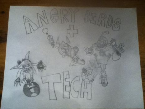 Angry Birds + Skylanders Tech Element by TheAngryBirdKing