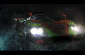 First 3D mapping - Mazda 787B by SrAbel