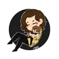 HARRY WITH HIS LOUIS DOLL by gucciwreck