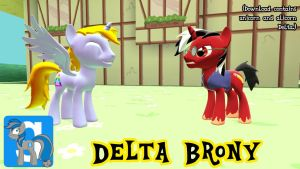 [DL] Prince Delta Brony by rcmero