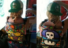 Bowser Jr. kandi Backpack by rencore