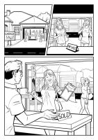 ANZ Promo Comic line art by sharpbrothers