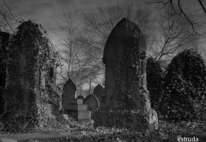 Tombstones And Ivy by Estruda