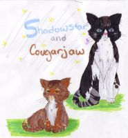 shadowstar and cougarjaw by KenshiTora