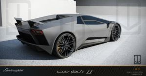 Countach concept II by wizzoo7