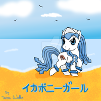 Squid Pony Girl by AnimationFanatic