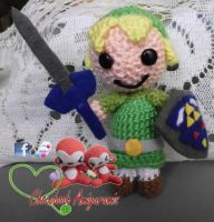 Link (from Legend of Zelda) amigurumi by franfalla