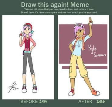 Draw This Again: Kylie Summers by xxDreamWhispererxx