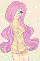 Fluttershy by Kiwii-tan