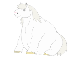 Fat Sitting Pony by nissandriver217