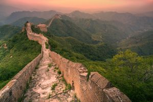 Jinshanling, Great Wall of China by TimGrey