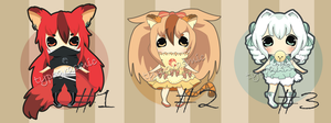 Kemonomimi Adopts [CLOSED] by typograsmic