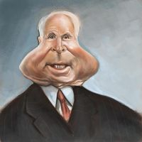 J McCain Caricature by jonesmac2006