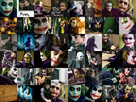 the Joker Icon Wall by LuthyLovett