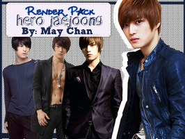 Render Pack de Hero Jaejoong by MayChan09