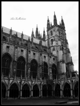Canterbury Cathedral by AirInMotion