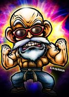 Master Roshi by cussoncheung