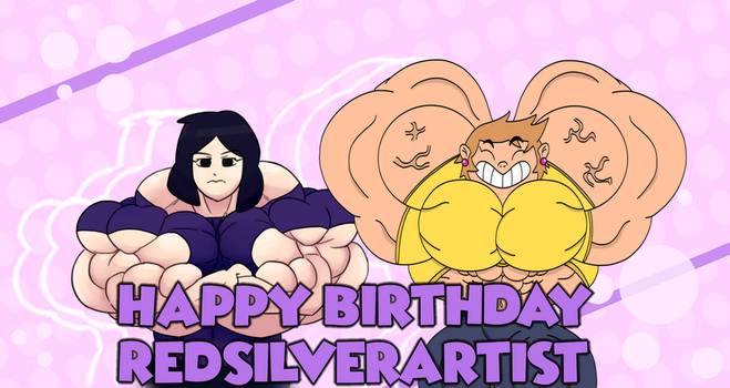 Happy Birthday RedSilver by TheCottonCandyQueen