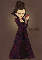 The Evil Queen by SoWhyCantI