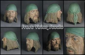 Captain Hector Barbossa . by Frost-Vision-Studio