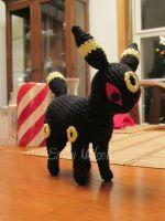 Amigurumi Umbreon by DarkGeminiLily