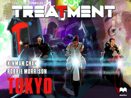 Treatment: Tokyo 3 cover! by JoeOtisCostello