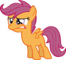 Scootaloo Do not wants by RainbowCrab