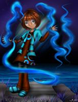 Water Magic: Kimi by AnotherLuciDreamer
