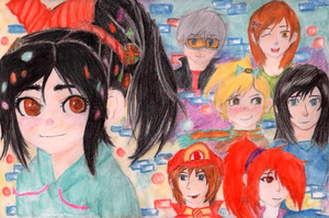 Vanellope's Party by Game-Central-Party