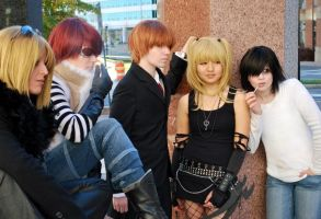 We're All Going Down - Death Note Group by blAIRbender