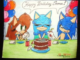:Gift:Happy_Late_Birthday_Emma_! by Sonar15