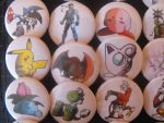 Button Smash set 3 by StamayoStudio