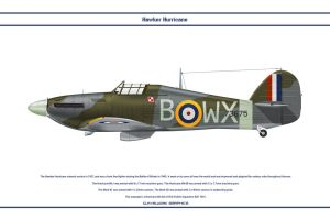 Hurricane GB 302 Sqn by WS-Clave