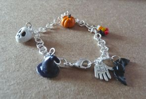 Halloween Charm Bracelet by Amy221B