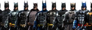 Batman Arkham Origins iOS - Batman Pack by DatKofGuy