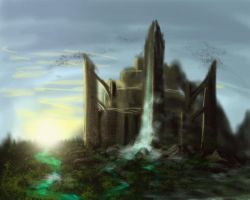 Lost Castle by Radioactive-Insanity