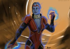 Mass Effect 2: Samara by mattbyles