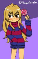 Taiga And Her Lolli by Augustusalex