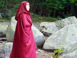 Melisandre Cosplay--Darkness Gathers by celticbard76