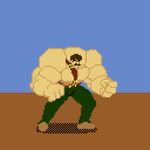 Mike Haggar - pixel art by Torcher999