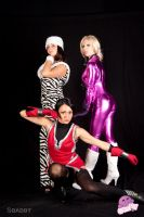 Deadly Trio - Tekken Cosplay by Sbabby