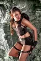 Jenn as Lara Croft Take 2 by laracroft