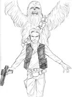 11102014 Han Chewie by guinnessyde