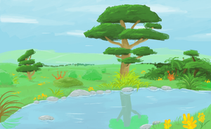 MS Paint Background Practice by mlpdarksparx