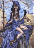 Tarot - The High Priestess by Soulstripper