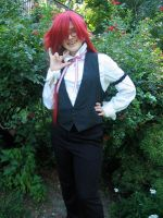 Grell Sutcliff Cosplay by ImaginaryParadox