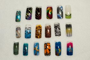 Nail Art Collection by elvaniel