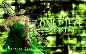 Zoro Wallpaper by kon1495